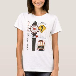 T-shirt Taches de voyage de San Francisco