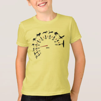 T-shirt Tachymètre animal