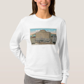 T-shirt Tacoma, WA - vue d'hôtel Winthrop