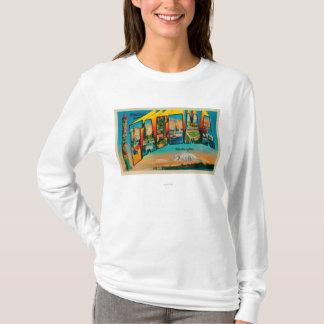 T-shirt Tacoma, Washington - grandes scènes 2 de lettre