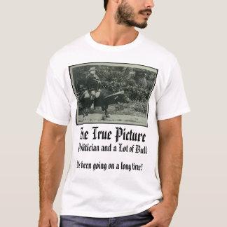 T-shirt Taft, l'image vraie, il était allé sur un lo…