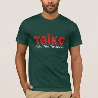 "T-shirt Taiko ""sensation le tonnerre """
