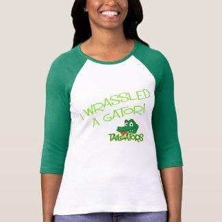 T-shirt Tailgators 3/4 chemise de douille raglane