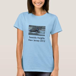T-shirt Tailles de bord de la mer après Sandy