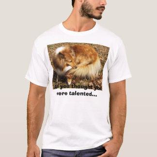 T-shirt Talent du Sheltie