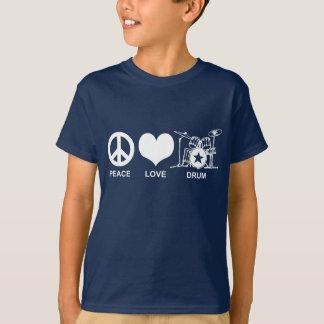 T-shirt Tambour d'amour de paix