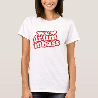 T-shirt Tambour et basse