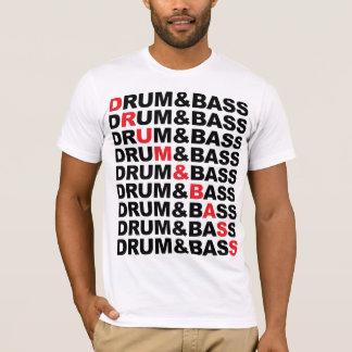 T-shirt Tambour et carré de basse