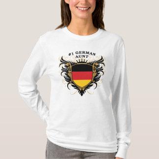 T-shirt Tante allemande du numéro un