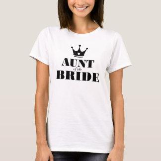 T-shirt Tante de la jeune mariée