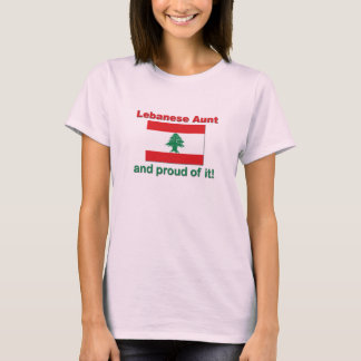T-shirt Tante libanaise fière