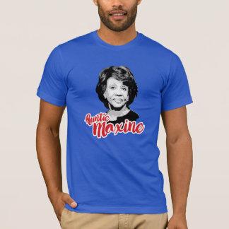 T-shirt Tante Maxine - contour blanc -