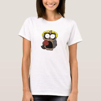 T-shirt Tanuki avec une chemise de biscuit
