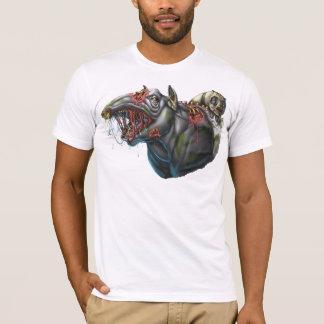 T-shirt Tapir et panda de zombi