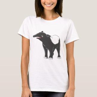 T-shirt Tapir heureux