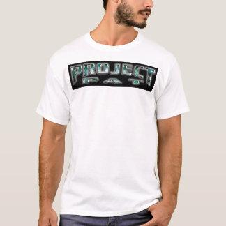 T-shirt tapotement de projet