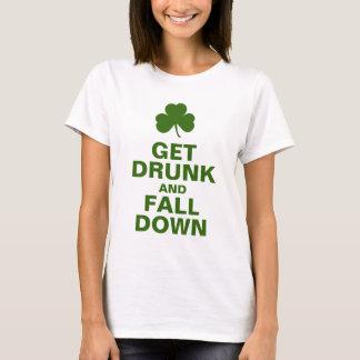 T-shirt Tapotements drôles de St d'Irlandais