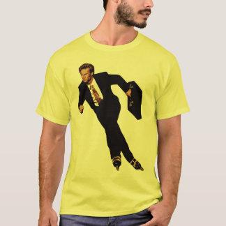 T-shirt Tard pour des affaires faites du roller le