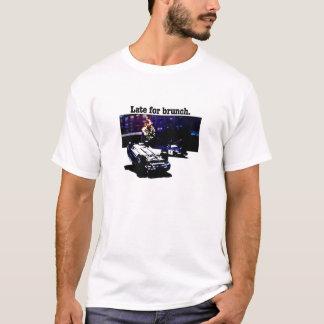 T-shirt Tard pour le brunch (version légère)