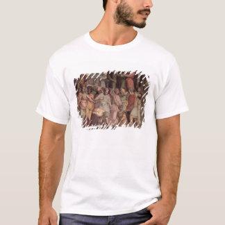 T-shirt Tarquinius le fier fondant le temple de Jupite