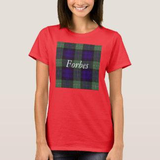 T-shirt Tartan d'écossais de plaid de clan de Forbes