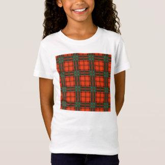 T-Shirt Tartan d'écossais de plaid de clan de Maxwell