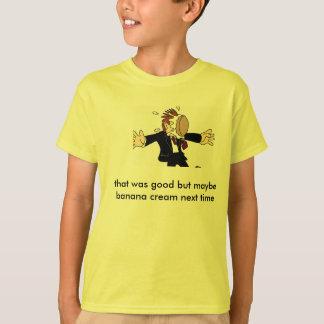 T-shirt tarte dans le visage