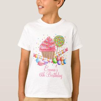 T-shirt Tartes de bonbon à lucette de sucrerie de petit