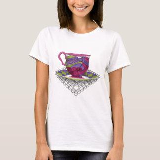 T-shirt Tasse de thé de casquettes