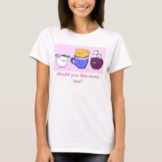T-shirt Tasse de thé Poms