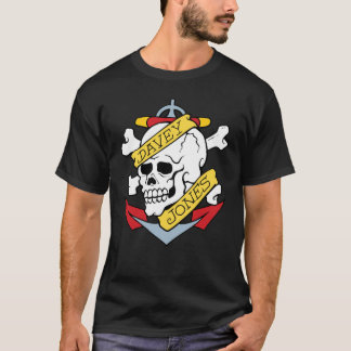T-shirt Tatouage de Davey Jones