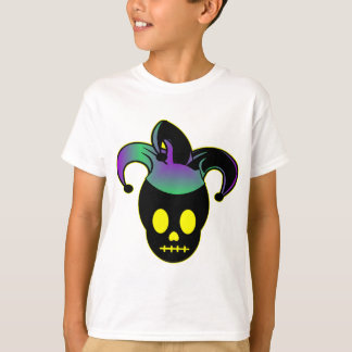 T-shirt Tatouage de farceur de crâne d'amusement