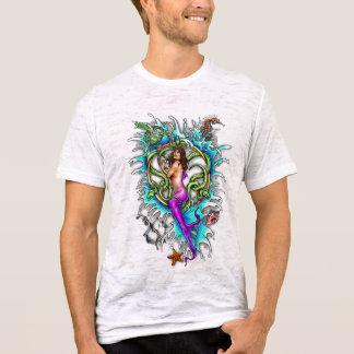 T-shirt Tatouage de sirène