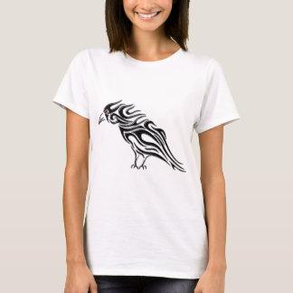 T-shirt Tatouage noir brillant de Raven