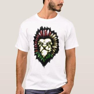 T-shirt TATOUAGE TRIBAL de lion
