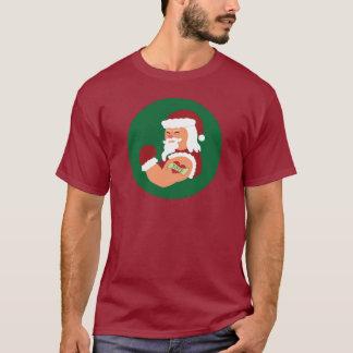T-shirt tatoué de Père Noël