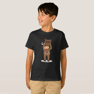 T-shirt Taureau dans la chemise drôle de la fourrure de