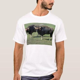 T-shirt taureaux de Gaur-adulte