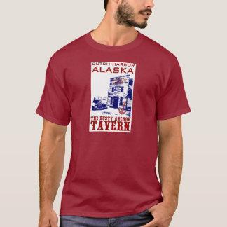 T-shirt Taverne rouillée d'ancre de port néerlandais
