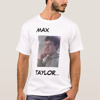 T-shirt Taylor maximum