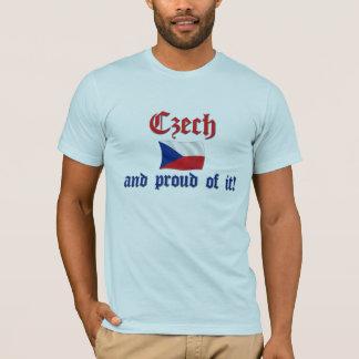 T-shirt Tchèque fier