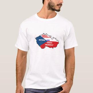 T-shirt Tchèque vous-même