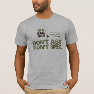 T-shirt Teabaggers DADSM : Pièce en t adaptée par