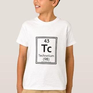 T-shirt Technétium 43