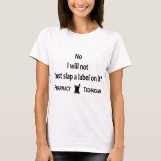 T-shirt Technicien de pharmacie