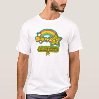 T-shirt Technicien de pharmacie de superstar