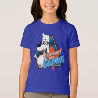 T-shirt Techniquement je suis un génie
