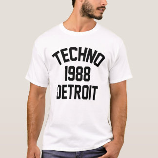T-shirt Techno 1988 Detroit