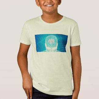 T-Shirt Technologie futuriste avec la puce Soluti d'esprit