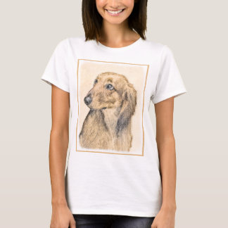 T-shirt Teckel 2 (à cheveux longs)